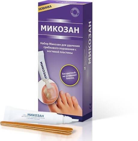 Le baume pour le traitement des ongles